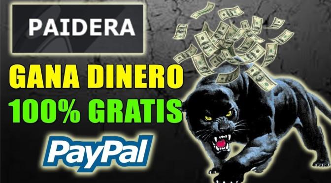 Gana dinero con Paidera.com