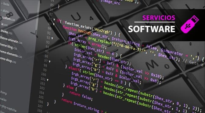 Servicios de Desarrollo de Software, paginas web y mas…
